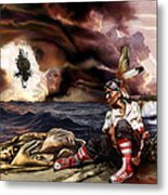 Marooned Metal Print by Mandem