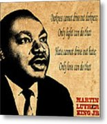 Martin Luther King Jr 1 Metal Print by Andrew Fare