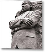 Martin Luther King Memorial Statue Metal Print by Olivier Le Queinec