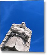 Martin Luther King Metal Print by Olivier Le Queinec
