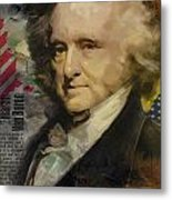 Martin Van Buren Metal Print by Corporate Art Task Force