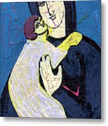 Mary And The Baby Jesus Metal Print by Genevieve Esson