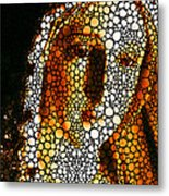 Mary - Holy Mother By Sharon Cummings Metal Print by Sharon Cummings