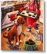 Mary Mary Quite On Great Meals Metal Print by David Condry