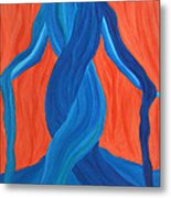 Mary - Mother Of Earth - Mother Of Light Metal Print by Daina White