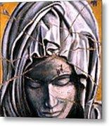 Mary Super Petram - Study No. 1 Metal Print by Steve Bogdanoff