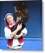 Maryland Renaissance Festival - A Fool Named O - 121219 Metal Print by DC Photographer