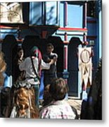 Maryland Renaissance Festival - A Fool Named O - 121228 Metal Print by DC Photographer