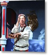 Maryland Renaissance Festival - A Fool Named O - 12125 Metal Print by DC Photographer