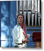Maryland Renaissance Festival - A Fool Named O - 12126 Metal Print by DC Photographer