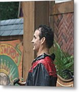 Maryland Renaissance Festival - Johnny Fox Sword Swallower - 121271 Metal Print by DC Photographer