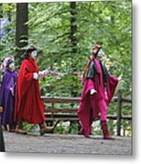 Maryland Renaissance Festival - People - 121289 Metal Print by DC Photographer