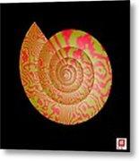 Math Conch Metal Print by GuoJun Pan