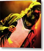 Matisyahu Live In Concert 2 Metal Print by The  Vault - Jennifer Rondinelli Reilly