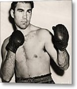 Max Schmeling Metal Print by Pg Reproductions