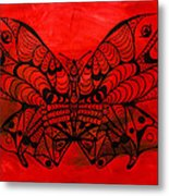 Max The Butterfly Metal Print by Pierre Louis