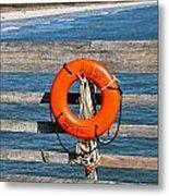 Mbsp Pier Metal Print by Jessica Brown