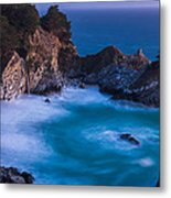 Mcway Falls Sunset Metal Print by About Light  Images