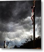 Me And Jesus Metal Print by Mark Spears