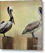 Me And My Missus Metal Print by Betty LaRue