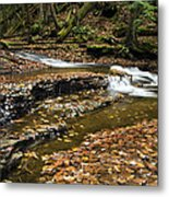 Meandering Waters Metal Print by Christina Rollo