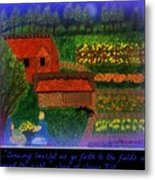 Meditation Number 4 Song Of Songs Metal Print by Maryann  DAmico