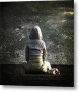 Meditation Metal Print by Stelios Kleanthous