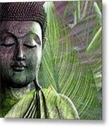 Meditation Vegetation Metal Print by Christopher Beikmann