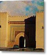 Meknes Metal Print by Catf