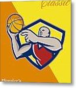 Memorial Day Basketball Classic Poster Metal Print by Aloysius Patrimonio