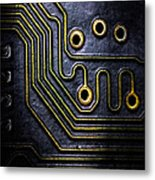Memory Chip Number Two Metal Print by Bob Orsillo