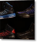 Men's Sports Shoes - 5d20654 Metal Print by Wingsdomain Art and Photography