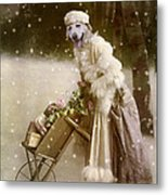Merry Christmas Metal Print by Martine Roch
