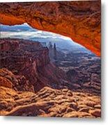 Mesa's View Metal Print by Darren  White