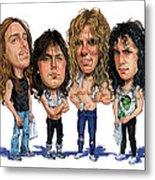 Metallica Metal Print by Art