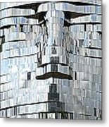 Metalmorphosis Spewing Metal Print by Randall Weidner