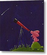 Meteor Shower Metal Print by Christy Beckwith