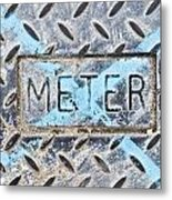 Meter Cover Metal Print by Tom Gowanlock