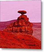 Mexican Hat  Metal Print by Jeff Swan