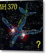 Mh 370 Mystery Metal Print by David Lee Thompson