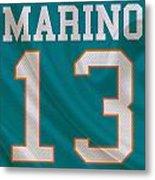 Miami Dolphins Dan Marino Metal Print by Joe Hamilton