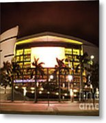 Miami Heat Aa Arena Metal Print by Andres LaBrada
