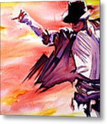 Michael Jackson-billie Jean Metal Print by Joshua Morton