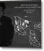 Michael Jackson Patent Metal Print by Aged Pixel
