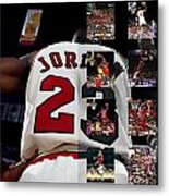Michael Jordan Metal Print by Joe Hamilton