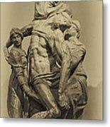 Michelangelo's Florence Pieta Metal Print by Melany Sarafis