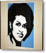 Michelle Obama Metal Print by Cora Wandel