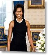 Michelle Obama Metal Print by Official White House Photo