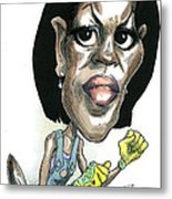 Michelle Obama Metal Print by Taylor Jones