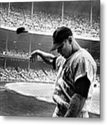 Mickey Mantle Metal Print by Gianfranco Weiss
